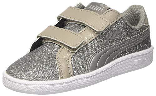 Puma Smash Glitz Glamm V Inf, Sneakers Basses Mixte Enfant