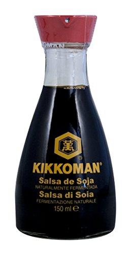 Soja-Sauce - Shoyu, Kikkoman, Tischflasche mit Ausgießer, Japan, 150 ml