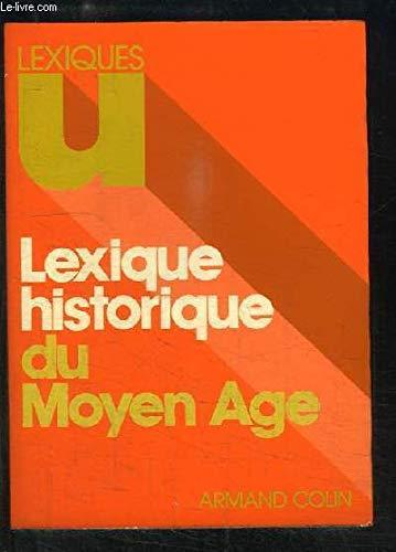 Lexique historique du Moyen âge (Lexiques U)