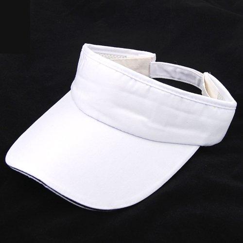 828672cb79c White Sun Sports Visor Hat Cap Tennis Golf Sweatband Headband UV Protection  - Buy Online in Oman.
