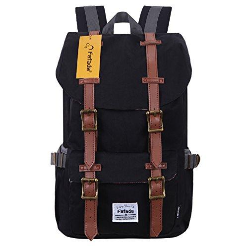 Imagen de fafada unisex  nylon causal hombres la sara  saco de viaje la bolsa de ordenador 18l c negro