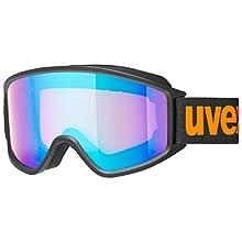 Uvex Unisex's g.gl 3000 CV ski Goggles, Black mat, one size