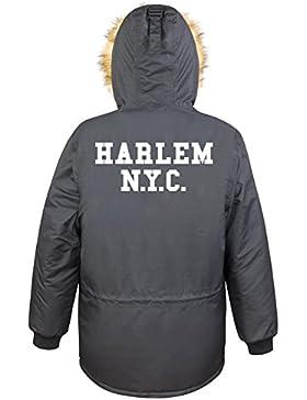Harlem NYC Parka Girls Nero Certified Freak