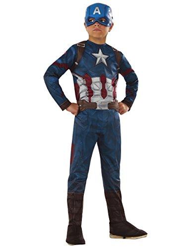 erica Kostüm für Kinder - Avengers 110/122 (5-7 Jahre) (The Avengers Captain America Kostüme)