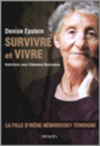 Survivre Et Vivre Entretiens [Pdf/ePub] eBook