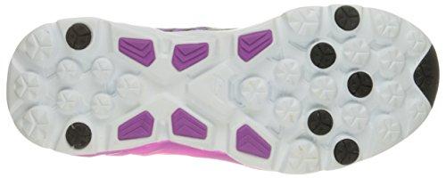 Skechers Go Run Ride 5, Chaussures Multisport Outdoor Femme Noir (Bkpr)