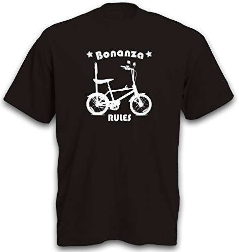 Signs & Fiction T-Shirt Bonanza Fahrrad BMX Cruiser Lowrider Beachcruiser Gr. XXL