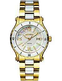 Roamer Women's AEU980 4823 PE Quartz Watch with Mother Of Pearl Dial Analogue Display and Stainless Steel Bracelet