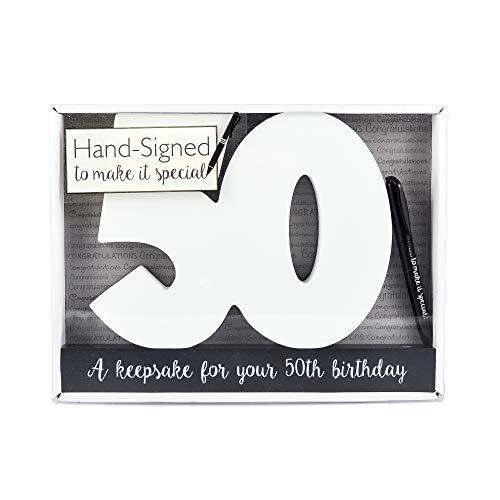 50. Unterschrift Zahlen