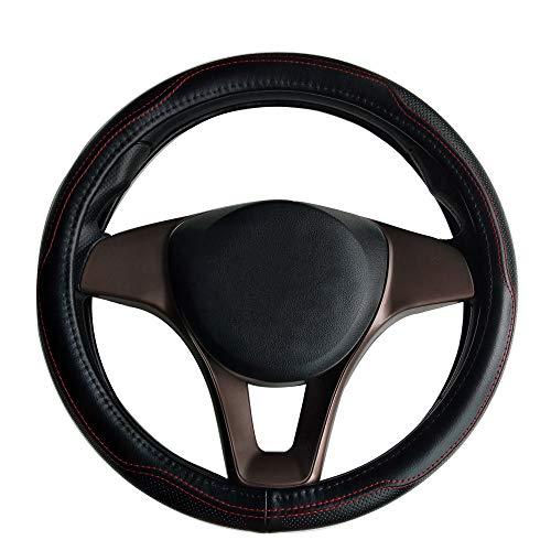 Auto Lenkradabdeckung universal 38cm atmungsaktiv Anti-Rutsch-Radabdeckung Schutz Zubehör für CAPTUR CLIO ESPACE KANGOO Laguna SCENIC TRAFIC