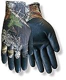 Rot lenken Mossy Oak PowerTouch mo-38groß Nylon Arbeit und allgemeine Zwecke Handschuhe–Nitril-Beschichtung, L, Mossy Oak/Black, 1