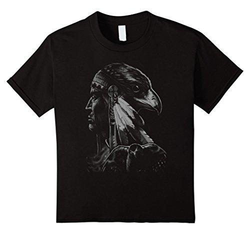 kids-great-eagle-native-american-graphic-design-t-shirt-12-black