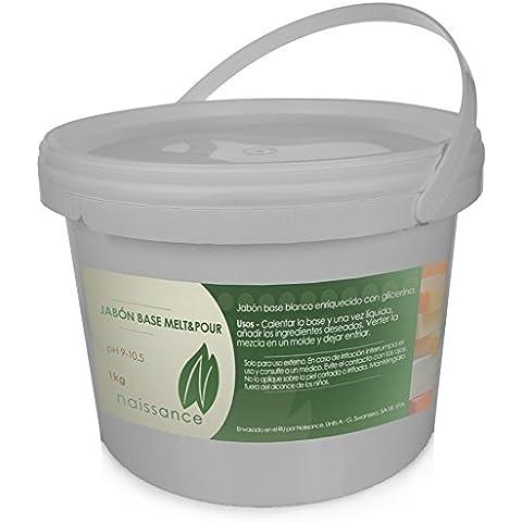 Jabón Base Melt & Pour Blanco 1Kg
