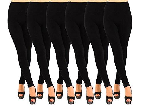 LooBoo Casual Mujer Leggin Elastico Ropa Retro Vintage Rock Vestir Moda Deporte Sexy Pontalon Slim Fit Designer Cool Urban Fashion leggings 2-6 pack