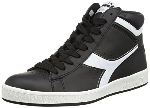 Diadora Game P High Scarpe Sportive, Unisex Adulto, Nero, 40