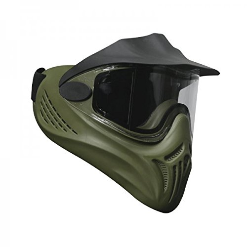 Empire Erwachsene Helix Thermo-Bildschirmmaske Oliv Paintball-Maske, grün, One Size