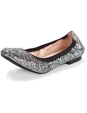 Paillettes scarpe luce confortevole/scarpe basse/Ladies scarpe piatte