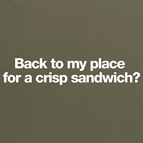Crisp Sandwich T-Shirt, Herren Olivgrn