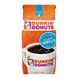 Dunkin Donuts French Vanilla Flavoured Ground Coffee 340g