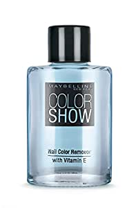 Maybelline New York Color show Nail Paint Remover, 30 ml