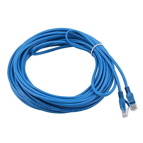 50ft Blau Patch-kabel (Lynn025Keats 50FT RJ45 CAT5 CAT5E-Ethernet-Netzwerk-LAN-Router Patch-Kabel-Schnur-Blau)