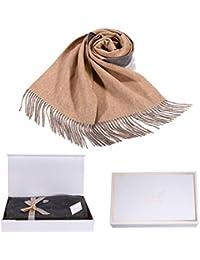 i+k Écharpe en cachemire et laine de mérinos - 100% laine Écharpe en 6a5d7053898
