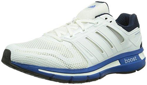 adidas Herren Revenergy Mesh Boost Laufschuhe, Weiß Running White FTW/Blue Beauty F10, 46 EU