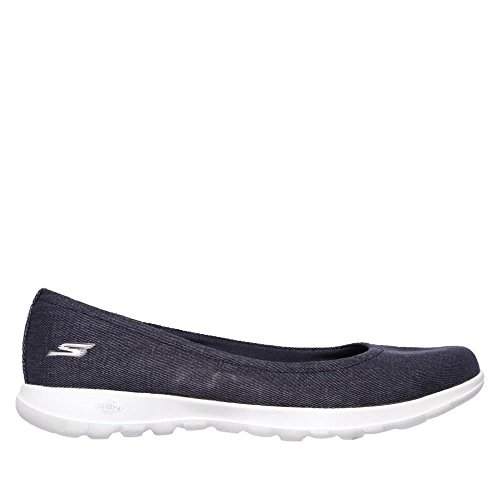 Skechers Go Walk Lite-in Bloom, Ballerines Bout Fermé Femme