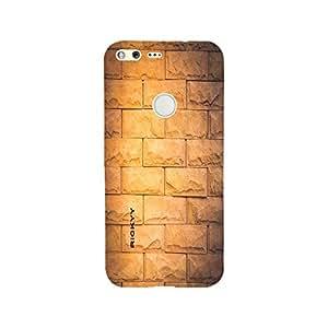 RICKYY Printed Matte Finish Focus Design Back Case Cover For Google Pixel XL