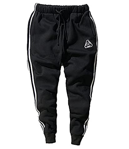 Minetom Sweat-shirts Hommes Rétro à Sweats à Capuche Manche Longue Hoodie Tops Casual Pantalon de Sport Hiphop Baggy Jogging Sarouel Pants Pantalons 02 EU