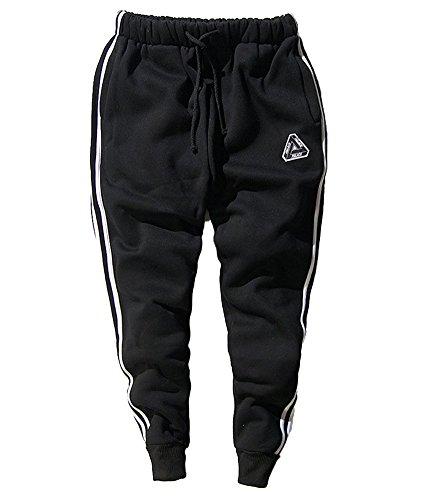 Minetom Herren Casual Hoodie Trousers Jungen Hippie Jogginghose Freizeit Skinny Hose mit Aufdruck Pullover Hip Hop Streetwear Sweatshirt Trousers02 EU - Halloween Army Männer