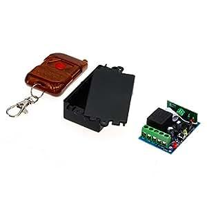Interrupteur Commutateur Télécommande Sans Fil 1 Voie 433MHz Récepteur DC 12V
