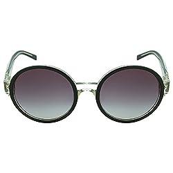 Tommy Hilfiger Gradient Round Womens Sunglasses - (7832 Blkgr-35 C4 54 S|54|Blue Color)