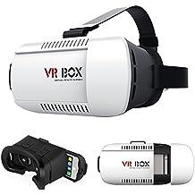 Sunyounger 3D VR Auricular Glasses VR 3D Realidad virtual Caja con VR Box - Gafas 3D para Google Realidad / Cardboard Virtual 3D de gafas / auriculares para smartphone Android: NEXUS / SONY / LUMIA / LG / MOTO / HTC / HUAWEI / ZTE Samsung Note, 6, 5, 4, 3 y de vídeo y teatro privado Películas. Material de alta calidad combinado con un diseño ligero para gran
