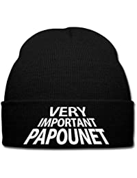 Spreadshirt Papa Very Important Papounet Bonnet d hiver 31c5a707372