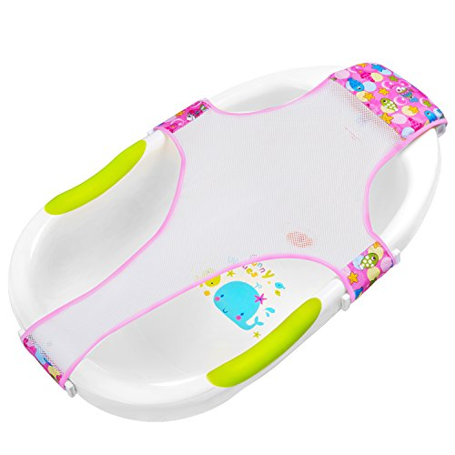HBselect Badewannensitz Baby antirutsch kreuzförmig Badewanne Unterstützung Badezubehör für Neugeborenen oder Kleinkind - Unterstützung Badewanne Baby