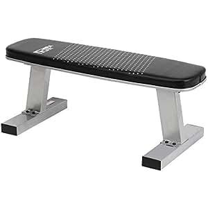 Mirafit banc de musculation gym plat 270kg sports et loisirs - Banc de musculation plat ...