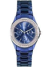 Guess  W0062L1 - Reloj de lujo para mujer, color azul