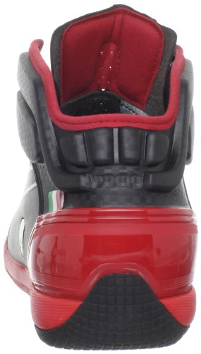 Puma Driving Power Light Sm Sf Hommes Noir Synthétique Baskets Black-Rosso Corsa