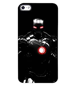 ColourCraft The Warrior Design Back Case Cover for APPLE IPHONE 4