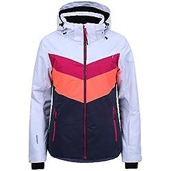 Icepeak - Kate Multicolor Jacket l - Blouson de Ski - Divers Multicolor - Taille 40