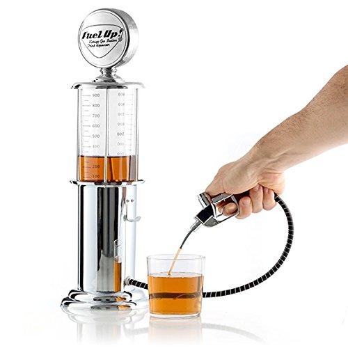 TSC–Dispensador de bebida, licor, Bomba de gasolina, Fuel, digestivo cerveza, Bar Depósito Cromo