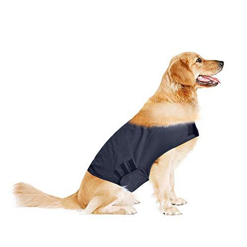 Nibesser beruhigung Chaleco para Perros Perros Mantel para Combatir el Miedo Miedo Vajilla Perro Anxiety Camiseta Mascotas Emotiva Calmantes Perros Miedo Chaqueta Perros Mascotas Ropa de Alivio