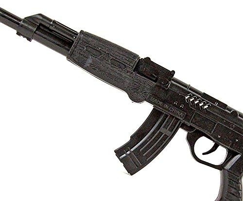 Ratta-Gewehr 42cm Sturmgewehr-47 Spielzeug-Pistole-Waffe Kinder-Kostüm Verkleidung Fasching Karneval Pistole Maschinengewehr Soldat SWAT - 4