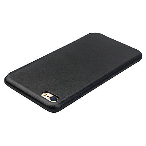 qialino Apple iPhone 7/7Plus Leder Flip Case Flio Fall Hellbraun iPhone 7 case Light Brown iPhone 7 case Black