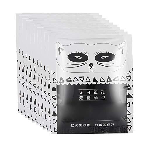 Liukouu Augendampfmaske, 10 stücke Einweg selbsterhitzung Fatigue Relief Steam Augenklappe Augenwärmer Hot Compress Augenmaske(01)