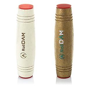 Dam-DMPM027 Pack Mokuru Roll Anti Estrés para Mejorar Habilidad Y Reflejos Color Blanco/Oro (DMPM027