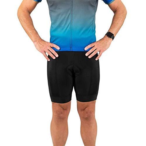 Canari Cyclewear Men's Ultima Gel Short Plus, Black, 1X -