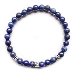 EDELSTEIN Armband – Lapislazuli Silber – Yoga Esoterik Spiritualität Astrologie Meditation Energie