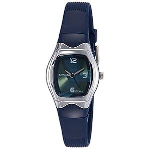 Sonata Analog Green Dial Women's Watch NM8989PP02 / NL8989PP02